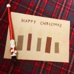 とても簡単!ダイソー商品だけで作るオリジナルクリスマスカード②